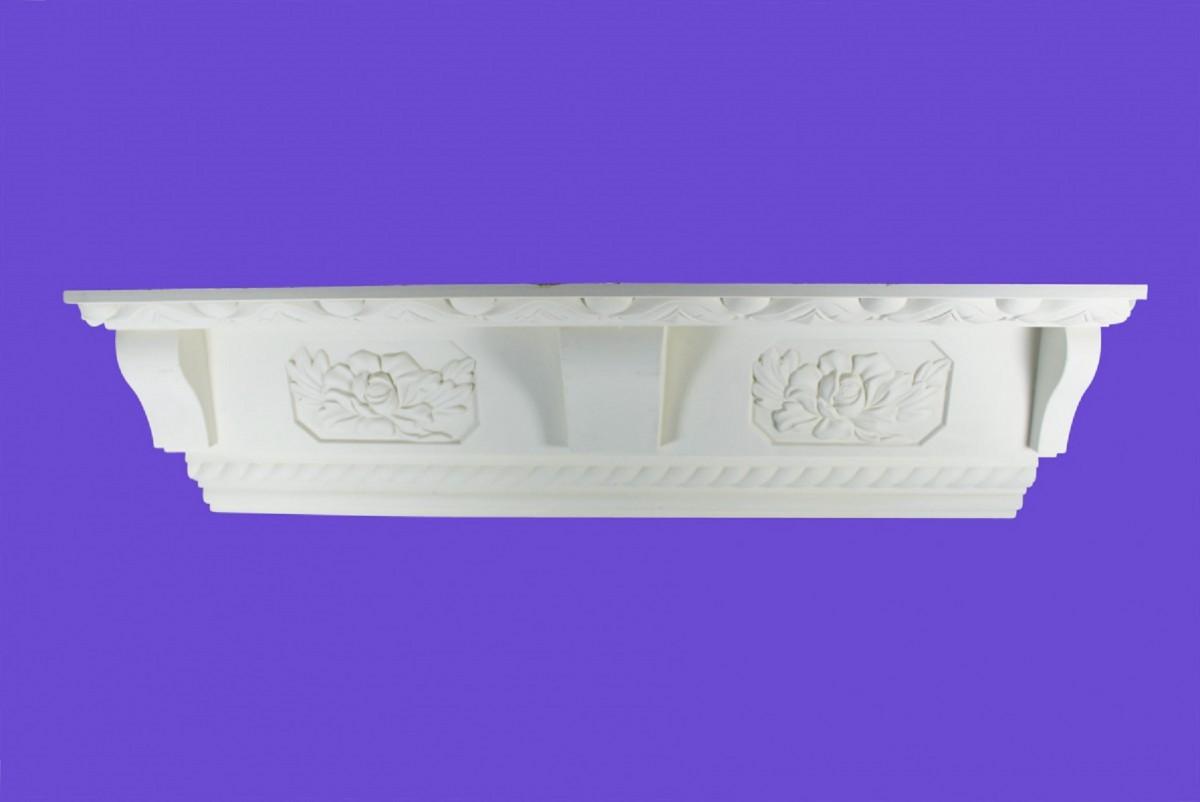 Cornice White Urethane Sample of 11191 Cornice Cornice Moulding Cornice Molding