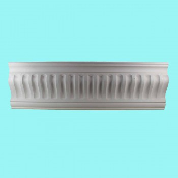 spec-<PRE>Ornate Cornice White Urethane  2 1/4&quot; H Ivy Bridge </PRE>