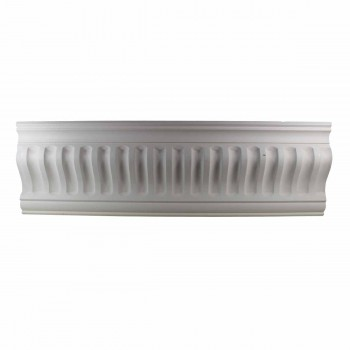 <PRE>Ornate Cornice White Urethane  2 1/4&quot; H Ivy Bridge </PRE>