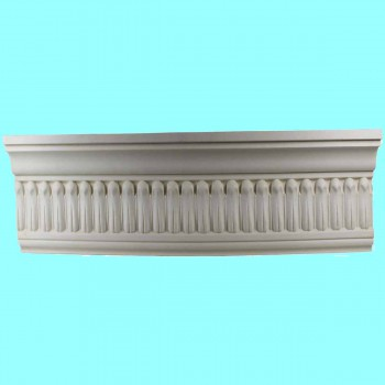 <PRE>Cornice White Urethane Sample of 11351 24&quot; Long </PRE>