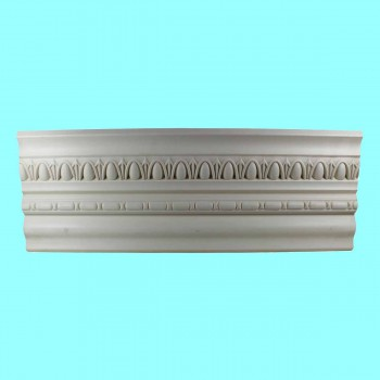 "spec-<PRE>Ornate Cornice White Urethane Weybridge  96"" L </PRE>"