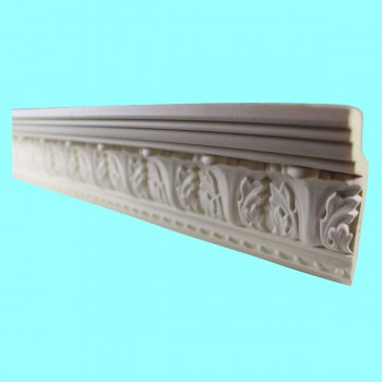 "spec-<PRE>Ornate Cornice White Urethane Haverford  96"" L  </PRE>"