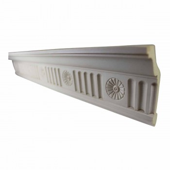 Ornate Cornice White Urethane 4 1/4