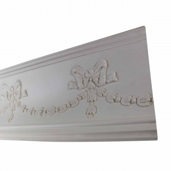 Ornate White Cornice Urethane Foam Londonderry Cornice Cornice Moulding Cornice Molding