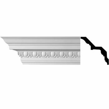 <PRE>Ornate Cornice White Urethane 5 1/4inch H Saint Denis </PRE>zoom1