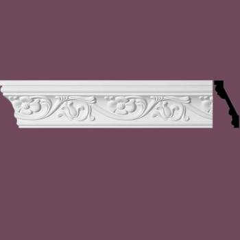 <PRE>Ornate Cornice White Urethane 96inch L Sainte Anne </PRE>zoom2