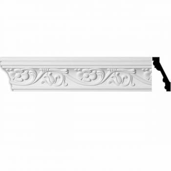 <PRE>Ornate Cornice White Urethane 96inch L Sainte Anne </PRE>zoom1