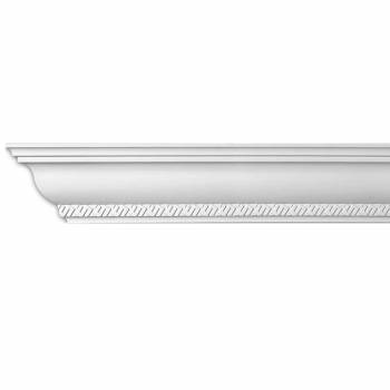 <PRE>Ornate Cornice White Urethane  4 3/4inch H Corinth </PRE>zoom1