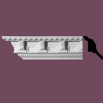 <PRE>Ornate Cornice White Urethane 6&quot; H Edinburgh </PRE>