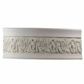 <PRE>Ornate Cornice White Urethane 3inch H Ainsley </PRE>zoom1
