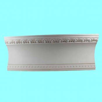 "spec-<PRE>Ornate Cornice White Urethane  94"" L  Ashlyn </PRE>"