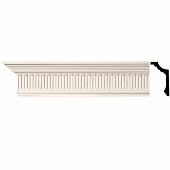 Ornate Cornice White Urethane 5