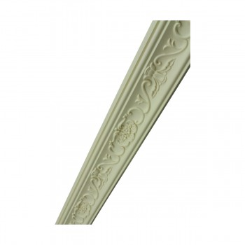 <PRE>Ornate Cornice White Urethane Lake Oswego  94 1/4inch L  </PRE>zoom6