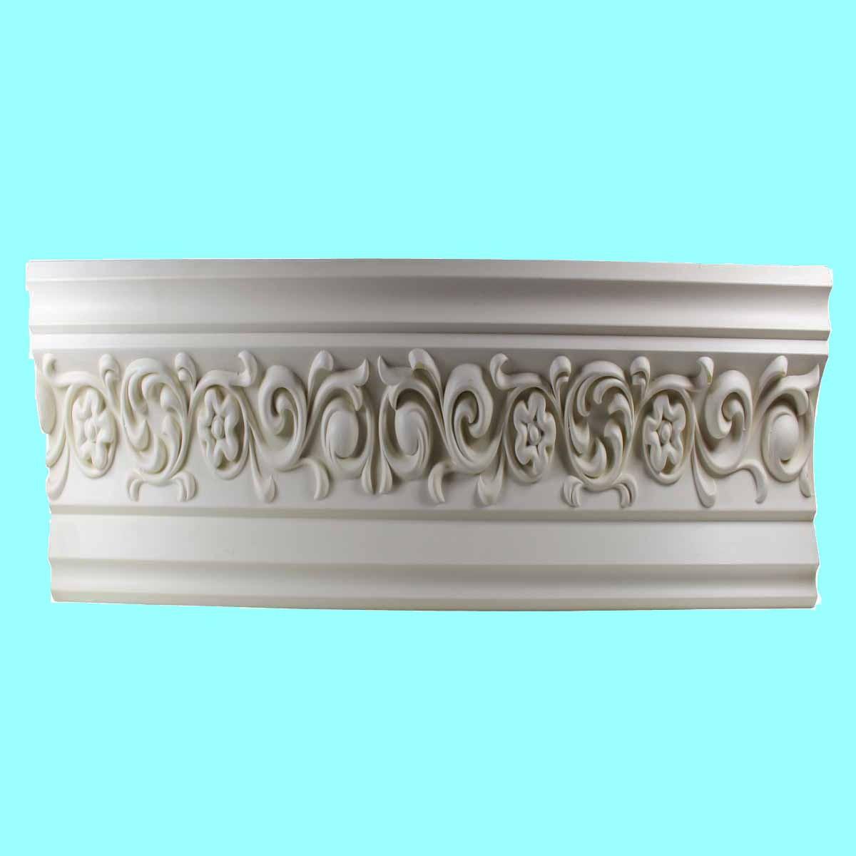 Cornice White Urethane 23.5 Sample of 11385 Cornice Cornice Moulding Cornice Molding