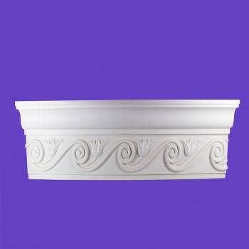 <PRE>Cornice White Urethane Sample of 11391 24&quot; Long </PRE>