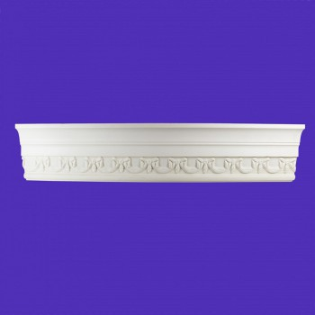 "spec-<PRE>Ornate Cornice White Urethane  94"" L Cheshire </PRE>"