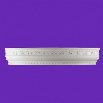 <PRE>Cornice White Urethane Sample of 11397 23.5inch Long </PRE>zoom8