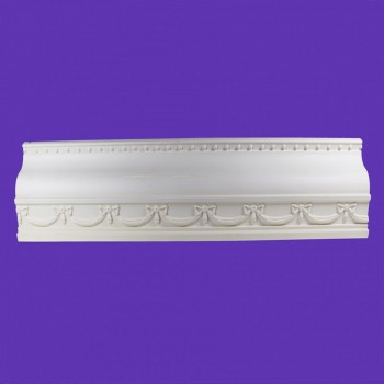 <PRE>Ornate Cornice White Urethane  3inch H Williamstown </PRE>zoom2