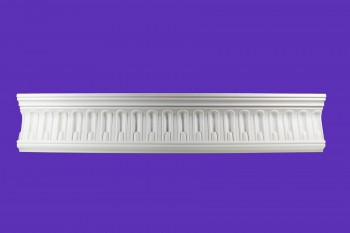 <PRE>Cornice White Urethane Sample of 11443 23.5inch Long </PRE>zoom8