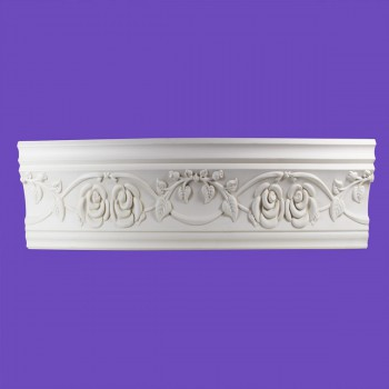 <PRE>Cornice White Urethane 23.5&quot; Sample of 11446 </PRE>