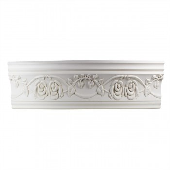 Ornate Cornice White Urethane 4