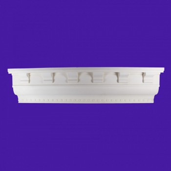 <PRE>Ornate Cornice White Urethane  95inch L Chesterfield </PRE>zoom2
