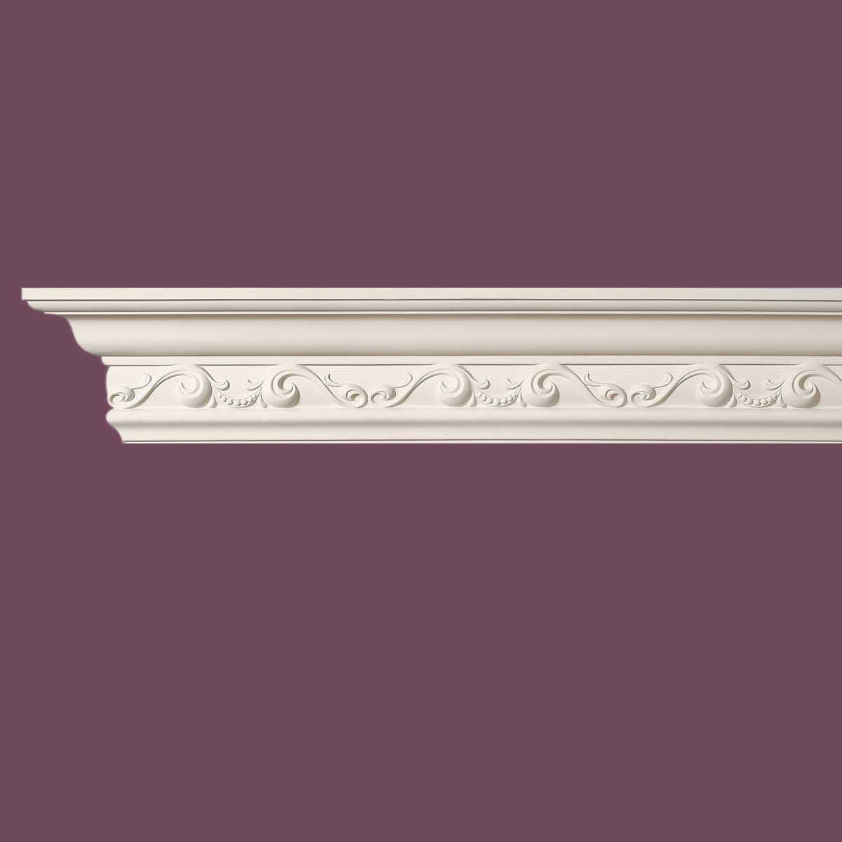 Cornice White Urethane Sample of 11452 23.5 Long Cornice Cornice Moulding Cornice Molding