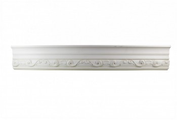 <PRE>Ornate Cornice White Urethane 3&quot; H Williamsburg </PRE>