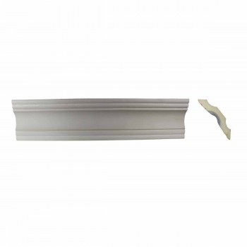 Simple Cornice White Urethane Northbridge 2 7/8