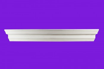 <PRE>Cornice White Urethane Sample of 11458 24inch Long </PRE>zoom9