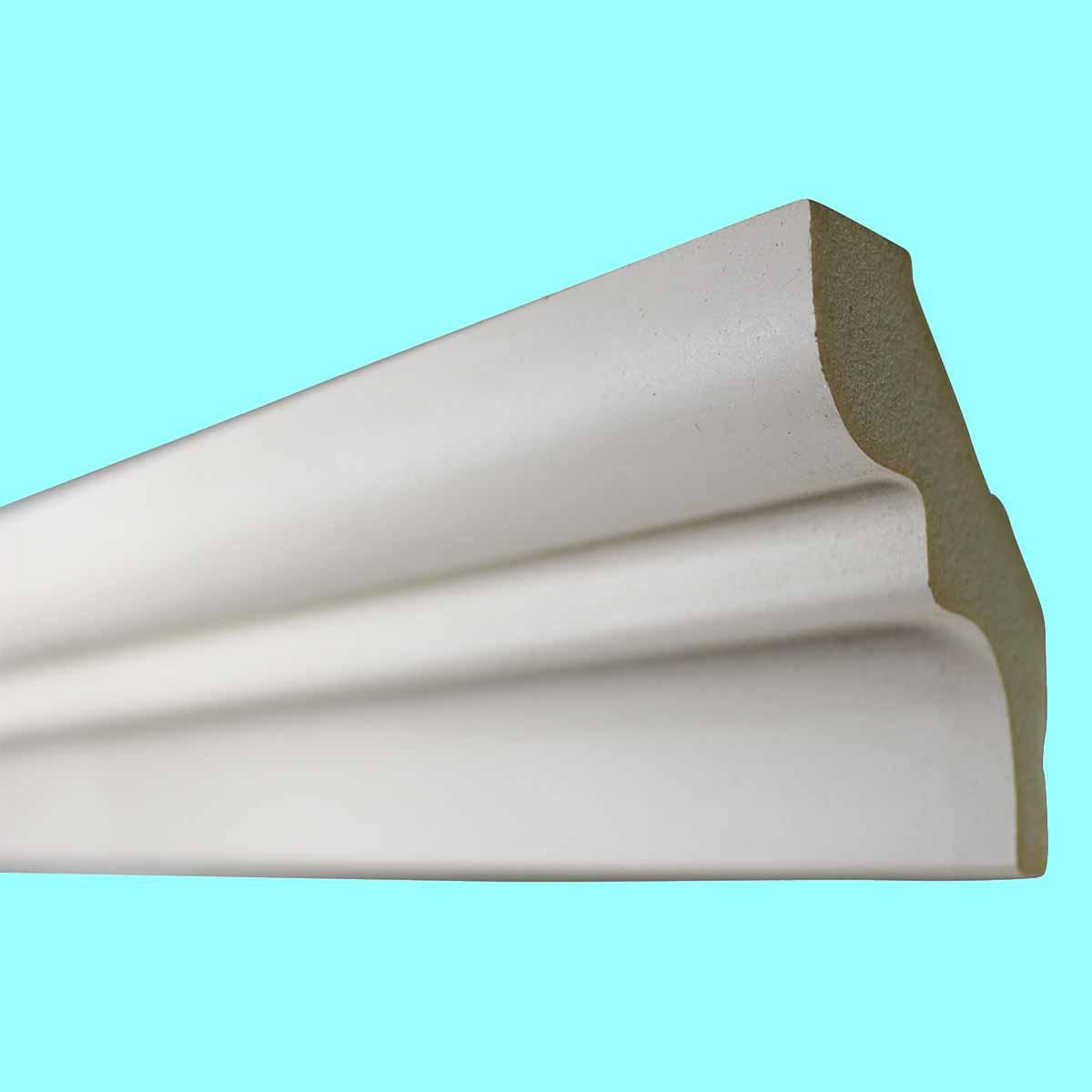 Cornice White Urethane Sample of 11466 24 Long Cornice Cornice Moulding Cornice Molding