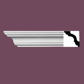"spec-<PRE>Cornice White Urethane Wellesley  94"" L  Simple </PRE>"