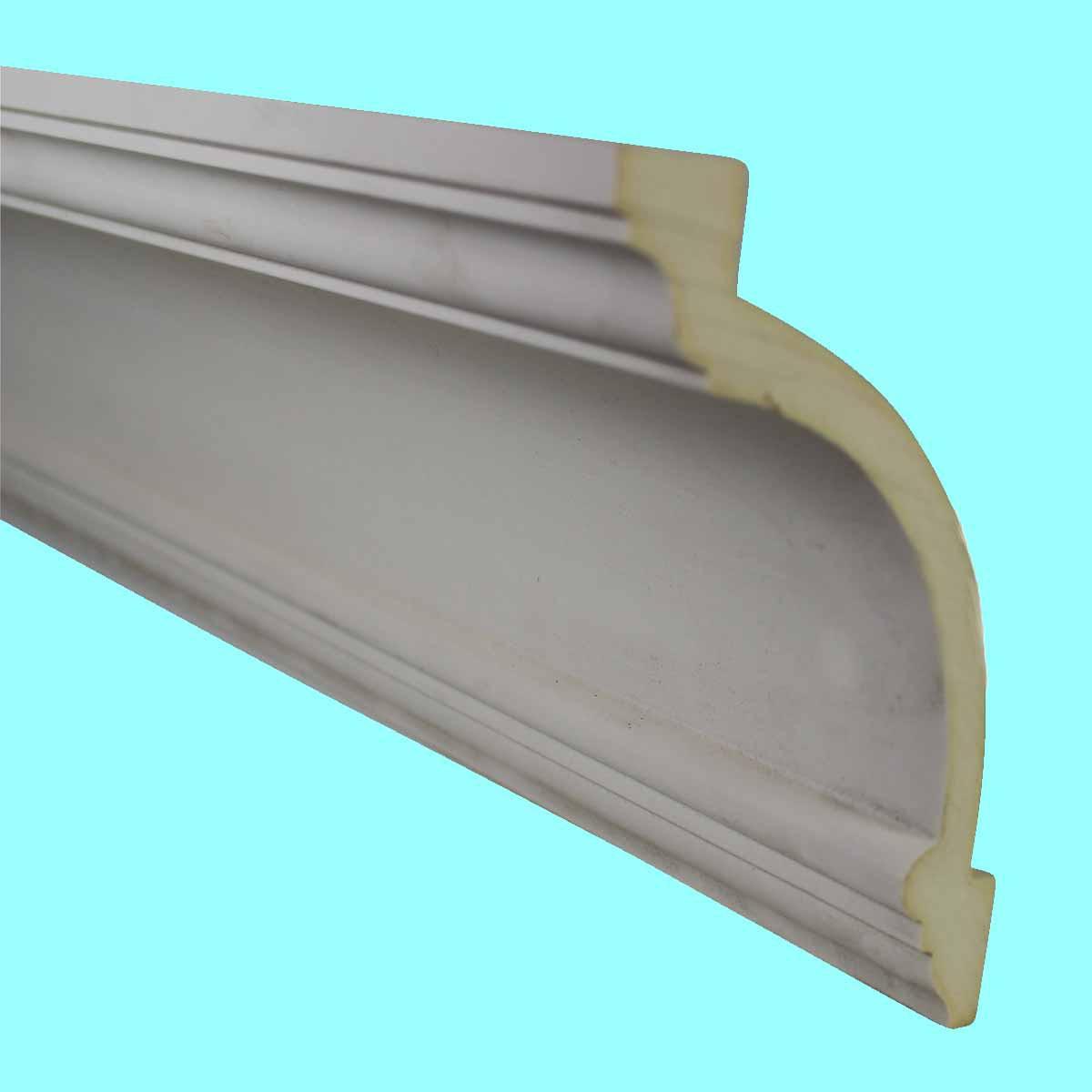Cornice White Urethane Sample of 11478 24 Long Cornice Cornice Moulding Cornice Molding