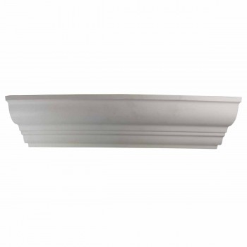 <PRE>Cornice White Urethane Haverhill 4 3/4inch H Simple </PRE>zoom1