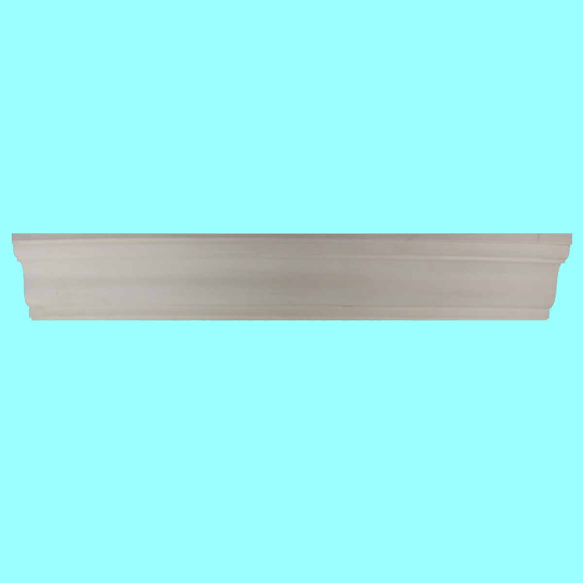 Cornice White Urethane Sample of 11501 24 Long Cornice Cornice Moulding Cornice Molding