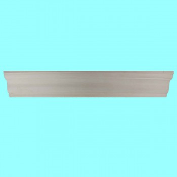 "spec-<PRE>Cornice White Urethane  96"" L  Oak Bluffs Simple </PRE>"