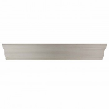 <PRE>Cornice White Urethane 2 1/4inch H Oak Bluffs Simple </PRE>zoom1
