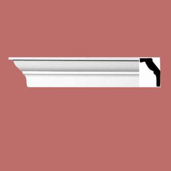<PRE>Cornice White Urethane 2&quot; H Vineyard Haven Simple </PRE>