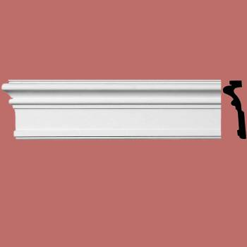 <PRE>Renovator's Supply Crown Molding White Urethane  96inch L nch H Somerset Simple</PRE>zoom2
