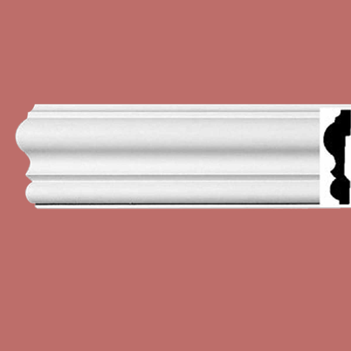 Cornice White Urethane Sample of 11523 24 Long Cornice Cornice Moulding Cornice Molding