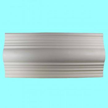 <PRE>Crown Molding White Urethane 3 3/8inch H Lennox Simple </PRE>zoom2