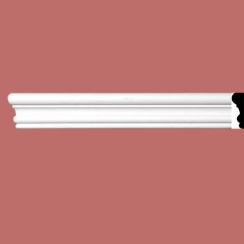 <PRE>Cornice White Urethane Sample of 11545 24&quot; Long </PRE>
