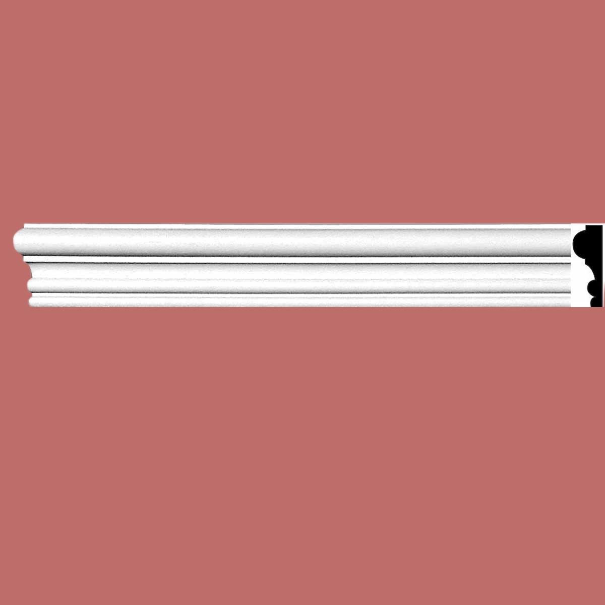 Cornice White Urethane Sample of 11570 24 Long Cornice Cornice Moulding Cornice Molding