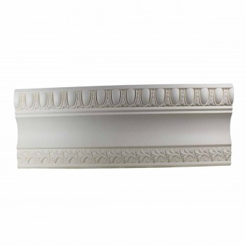 Ornate Cornice White Urethane 3