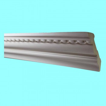 "spec-<PRE>Ornate Cornice White Urethane  94"" L Chilton Springs </PRE>"