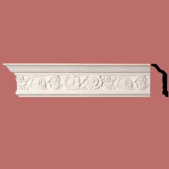 <PRE>Cornice White Urethane Sample of 11593 24inch Long </PRE>zoom6