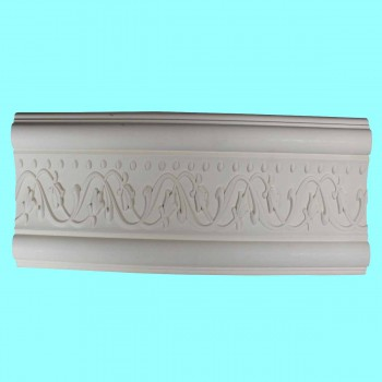 Crown Molding White Urethane  96 L  Beacon Hill Ornate Crown Molding Crown Moldings Crown Moulding
