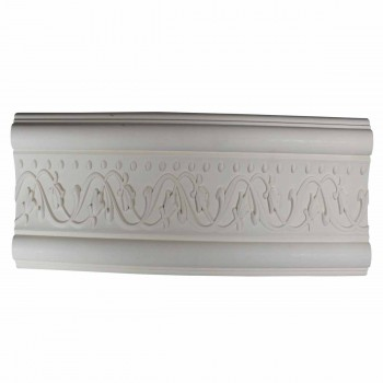 <PRE>Crown Molding White Urethane  96inch L  Beacon Hill Ornate </PRE>zoom1