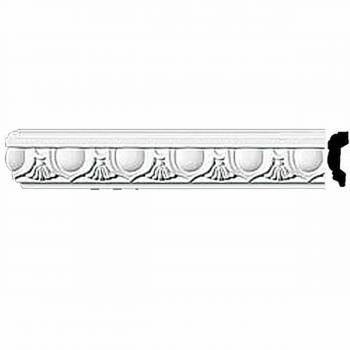 Crown Molding White Urethane 2 H Cobble Hill Ornate