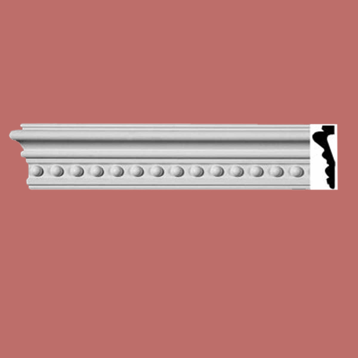 Cornice White Urethane Sample of 11613 24 Long Cornice Cornice Moulding Cornice Molding